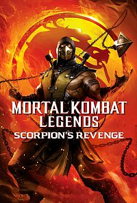 Mortal Kombat Legends: Scorpion's Revenge Cover